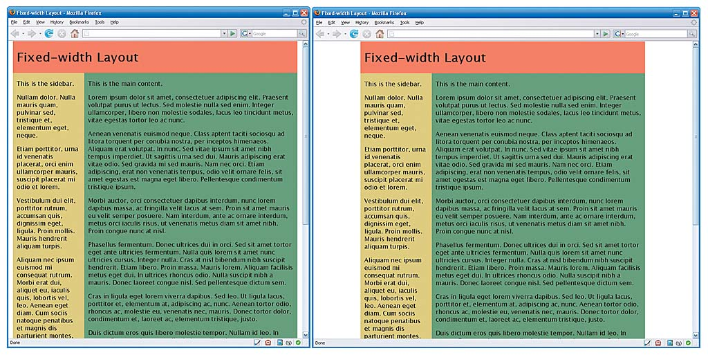 Flexible Web Design Types Of Web Page Layouts Types Of Layouts Peachpit