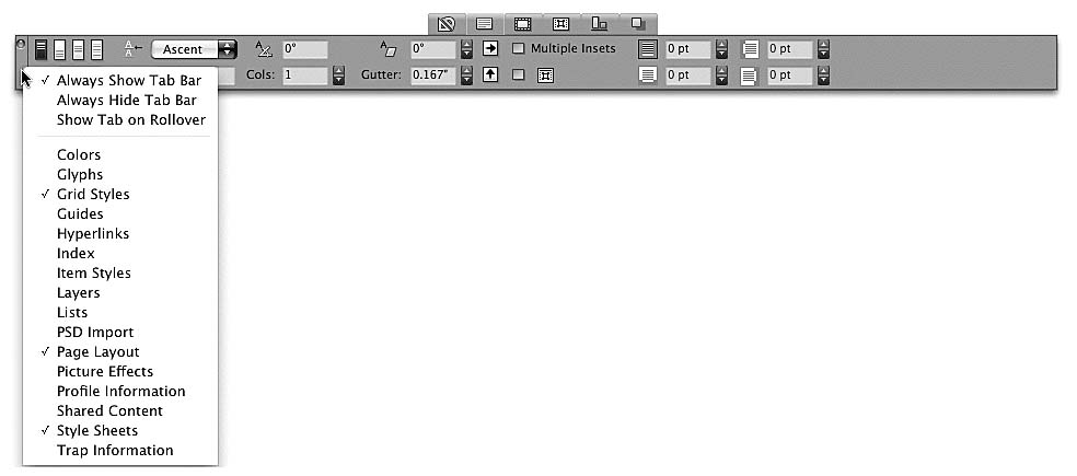 how to change measurements in indesign