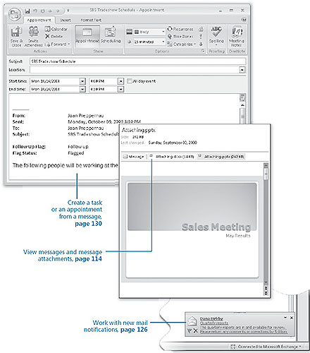Handling E Mail Messages In Microsoft Office Outlook 2007