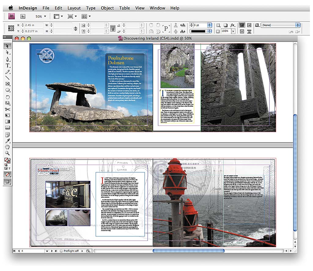 indesign examples