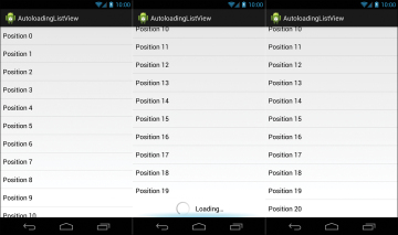 Autoloading ListViews | How to Handle Common Android UI Components