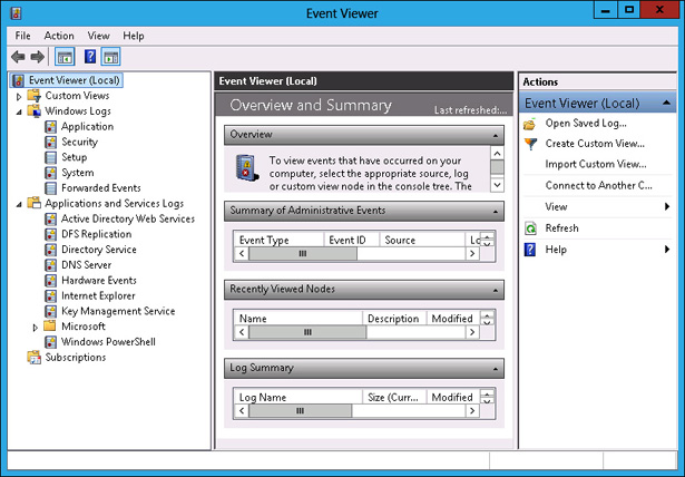 administering windows server 2012 r2 monitoring and auditing