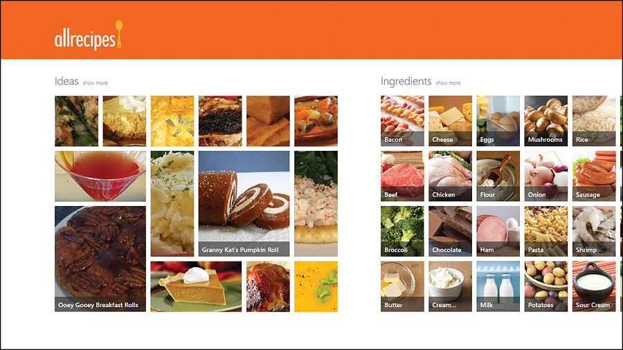 Top windows 81 apps food and dining best recipe app informit forumfinder Gallery