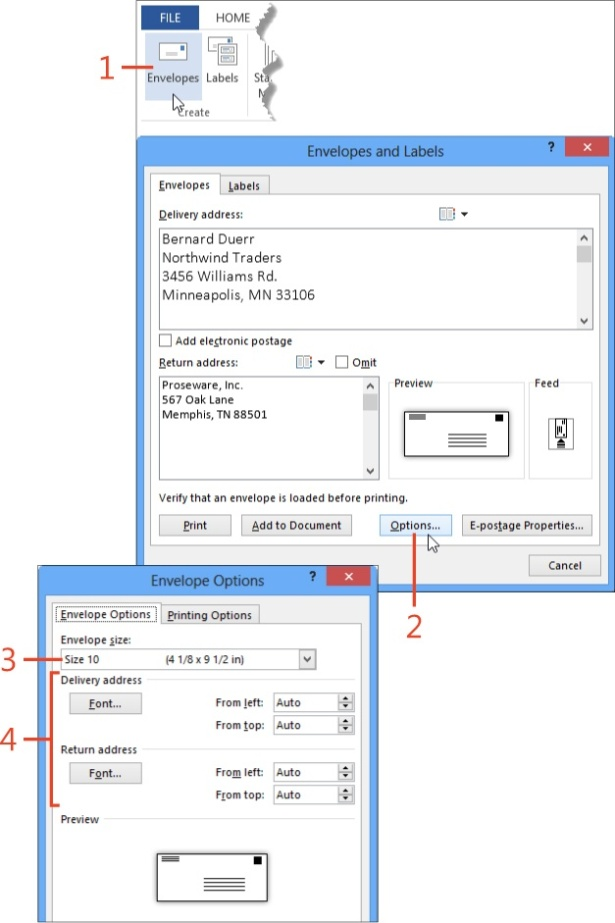 Mailing Paper or Pixels with Microsoft Word 2013 | Microsoft Press ...