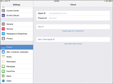 Using iCloud with Your iPad to Back Up and Sync Data | Set