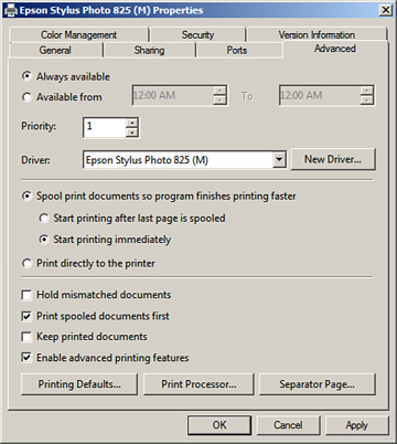Foundation Topics | Configuring and Monitoring Print