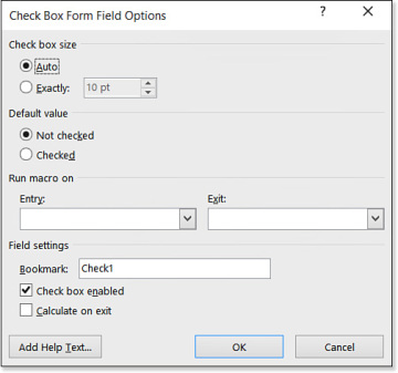 Creating a Form with Legacy Form Fields | Working with Fields and