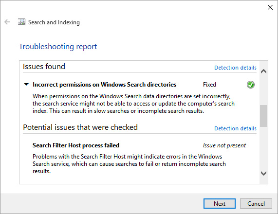 what is windows problem reporting process