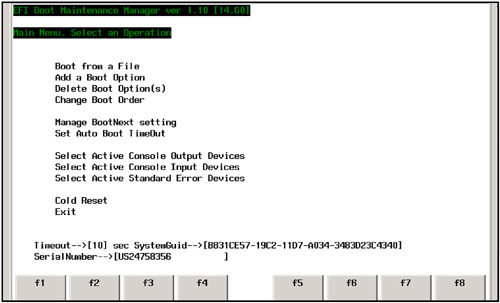 Booting Linux: EFI and Management Processor | EFI and POSSE