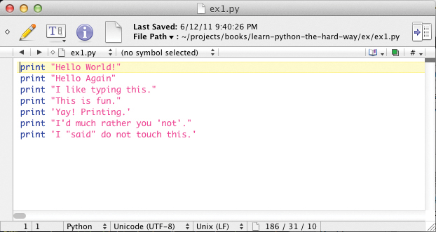 Syntaxerror eol while scanning string literal