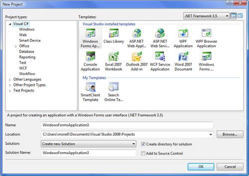 Develop User Applications   A Quick Tour of Visual Studio
