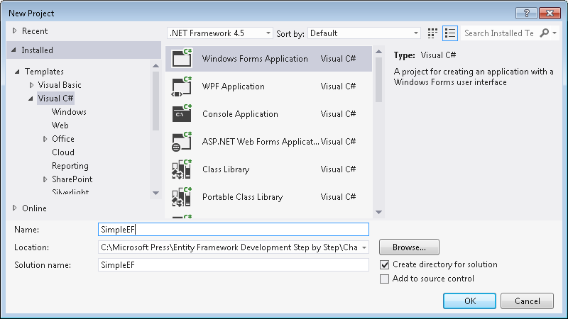Getting to Know the Entity Framework | Microsoft Press Store