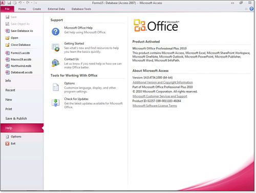 Changes to the Office 2007 Ribbon User Interface | Access 2010 for