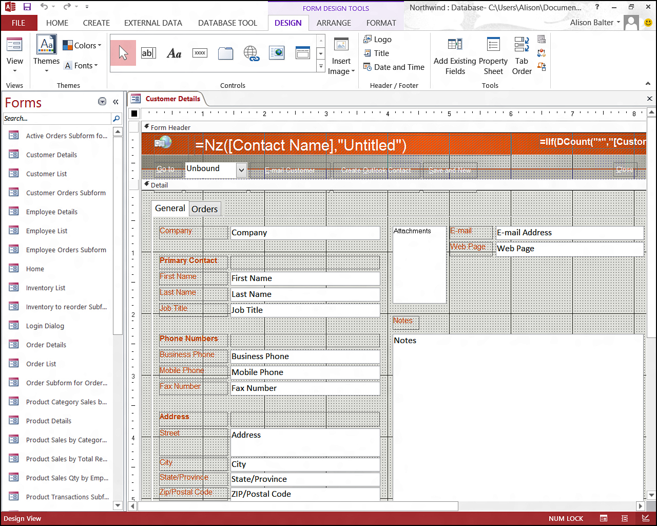 A Preview of the Database Components | Why Use Microsoft Access ...
