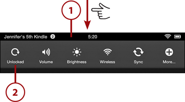 Settings | Getting Started with the Kindle Fire | InformIT