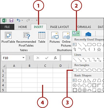 Understanding Contextual Tabs | Working with Excel 2013's