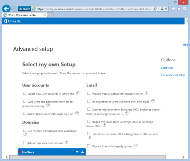 Provisioning Office 365