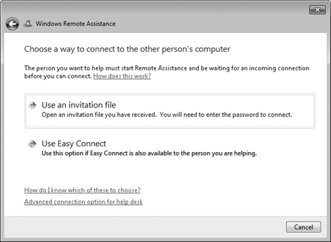 Supporting Windows 7 Users with Remote Assistance