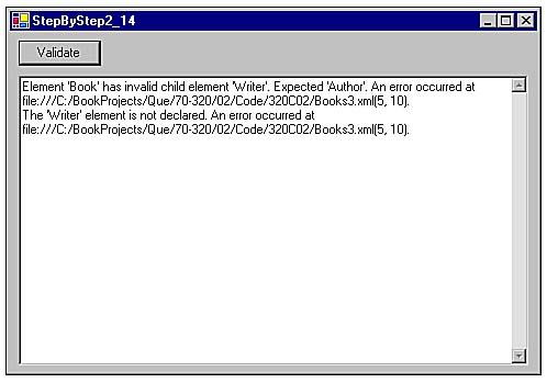 Xmlvalidatingreader xml reader c# example