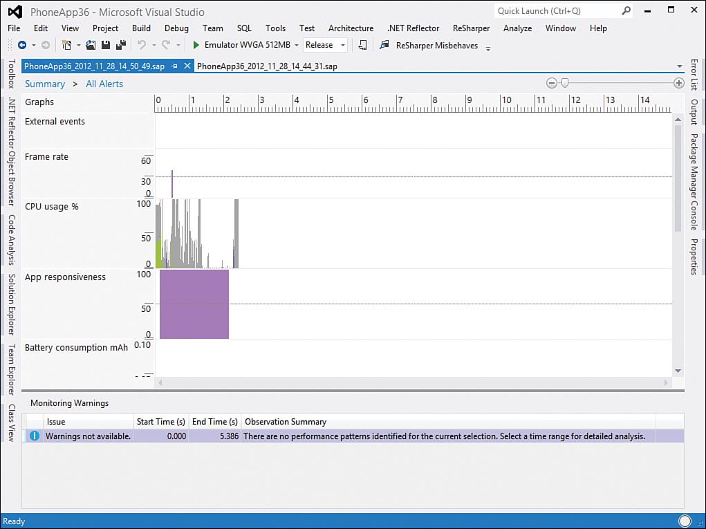 The Windows Phone Application Analysis Tool | Fundamental Concepts