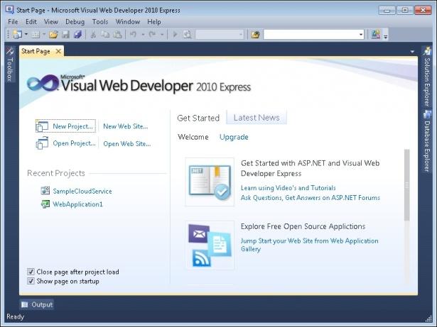 Visual web developer 2010 express edition download