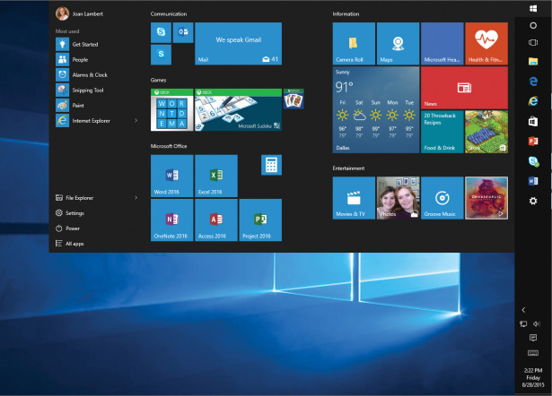 Personalize Your Working Environment in Windows 10