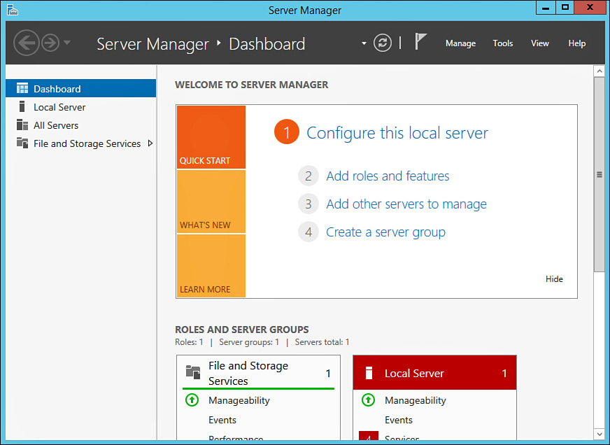 Foundation Topics   Installing and Configuring Windows Server 2012 ...