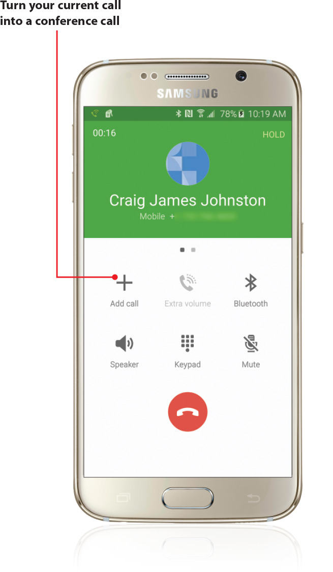 Making And Receiving Calls On Your Samsung Galaxy S6 Getting To