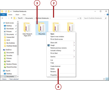 Deleting Notebooks | Working with Notebooks in OneNote 2016