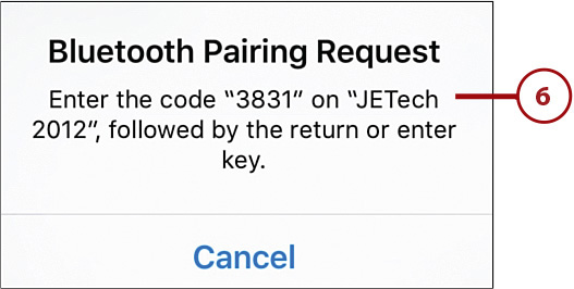 Using Bluetooth to Connect to Other Devices   Connecting Your iPhone