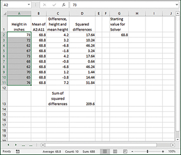 Cluster Analysis in Excel | Calculating the Mean | InformIT