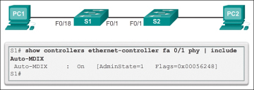 Configure Switch Ports (2 1 2) > Cisco Networking Academy's