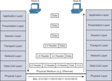 Network Access and Layer 2 Multicast > Layered Encapsulation