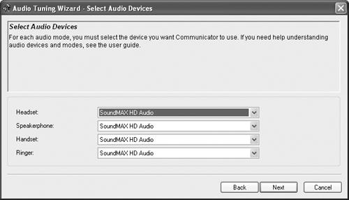 audio tuning wizard windows 10