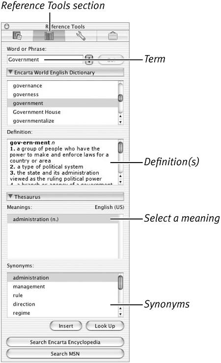 Proofing Your Work Working With Word In Mac Os X Peachpit