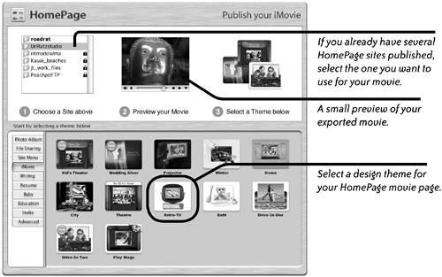 More Ways to Share a Movie | iMovie | Peachpit
