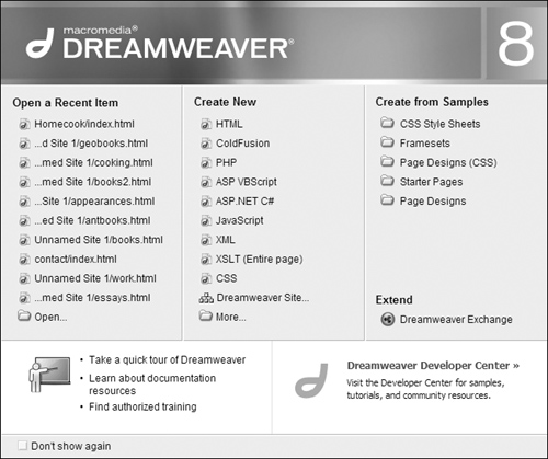 Building Your First Page in Macromedia Dreamweaver 8 | Creating a ...