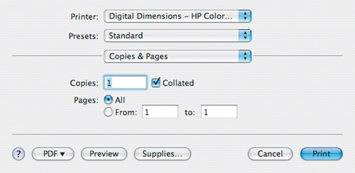 The Mac Designer's Guide to Printing   Setting Up Printers