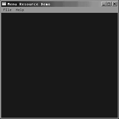 Working with Menus   Advanced Windows Programming   InformIT