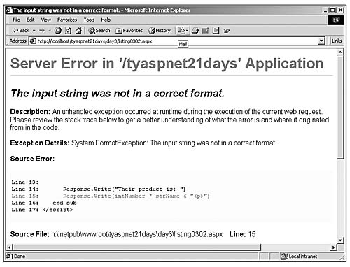 Variables | Building ASP NET Pages with Visual Basic NET and