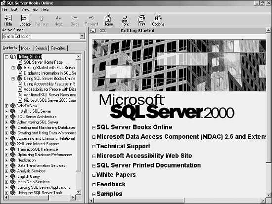 Working with SQL Server 2000 Management Tools and Utilities