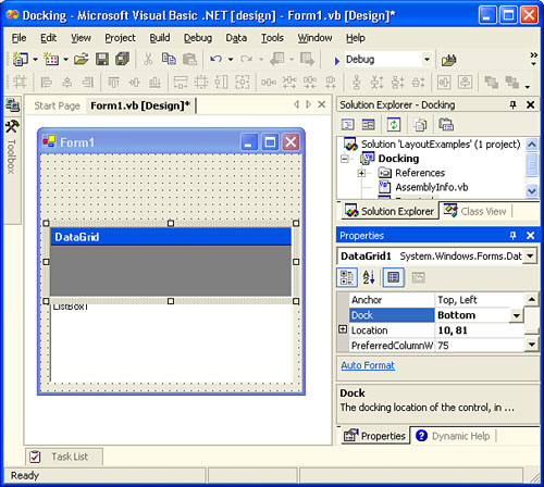 Configuring Your Form for Resizing | Building Windows Applications
