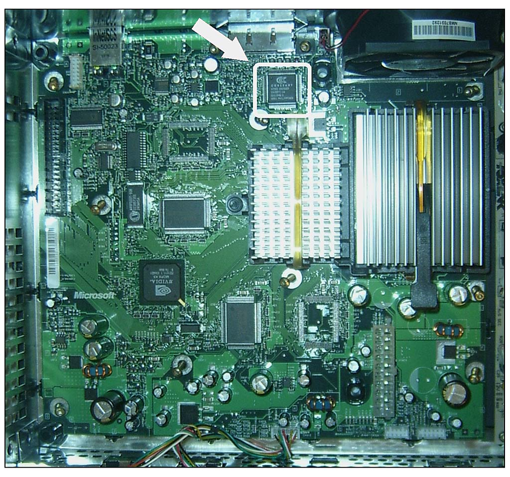 Methods Of Identification Identifying Your Xbox Revision Informit 360 Slim Motherboard