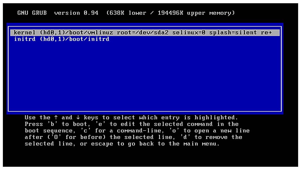Booting and Shutting Down Your SuSE Linux Enterprise Server | Boot