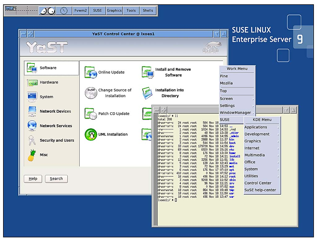 The Shell and the GUI | Working with SUSE Linux Enterprise