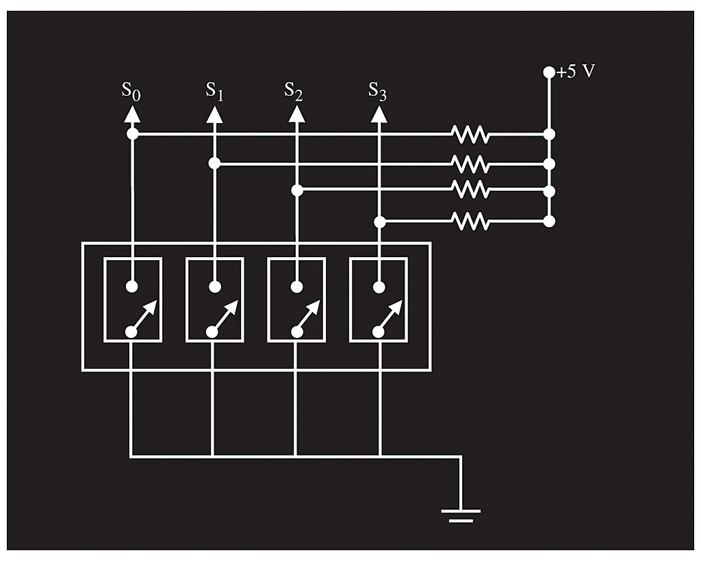 Analog Design With Discrete Components Basic Mechanical Wiring Diagram Spst Contacts 3 Informit