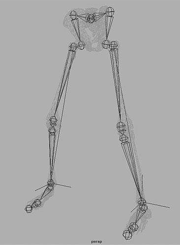Maya Character Skeleton Setup   Creating Basic Animation