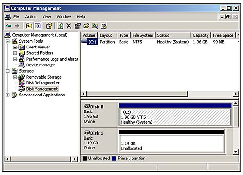 Preparing a Hard Disk for Use   Troubleshooting PC Storage