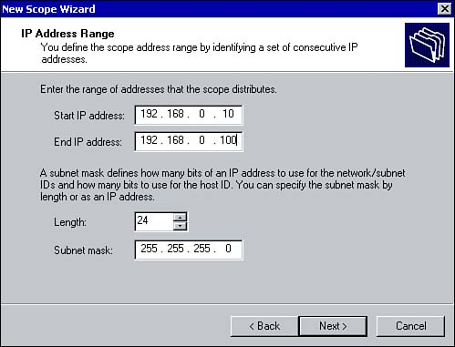 Creating and Managing Scopes, Superscopes, and Multicast Scopes
