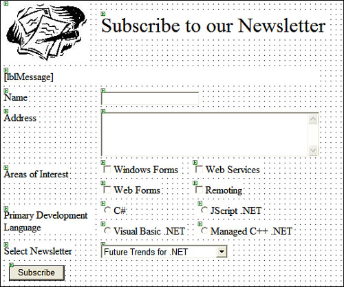 Web Server Controls | Controls | Pearson IT Certification